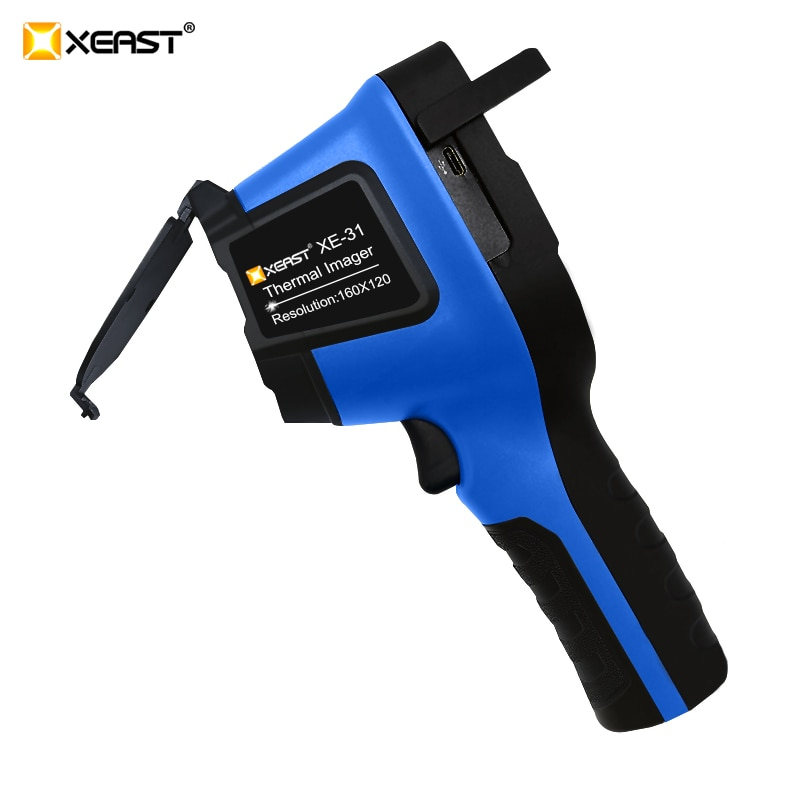 Soporte técnico de XEAST 2020 nuevo pantalla a Color de cámara Termográfica infrarroja cámara de imagen térmica
