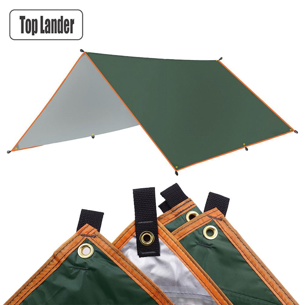 4x3 متر 3x3 متر المظلة مقاوم للماء قماش القنب خيمة الظل خفيفة حديقة المظلة في الهواء الطلق التخييم أرجوحة المطر يطير شاطئ الشمس المأوى