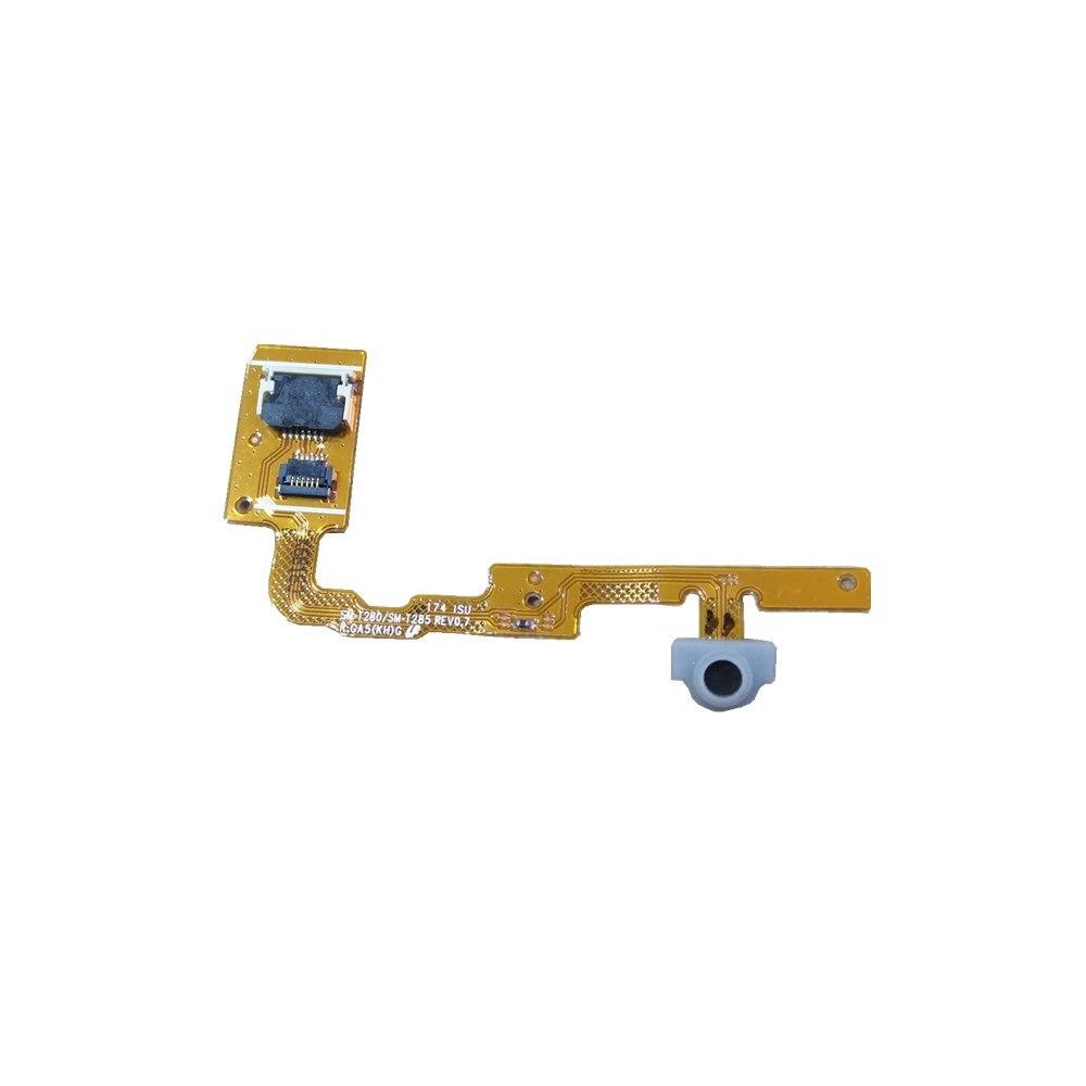 Para samsung galaxy tab a SM-T280 SM-T285 smt280 smt285 t280 t285 cabo flexível peças de reparo