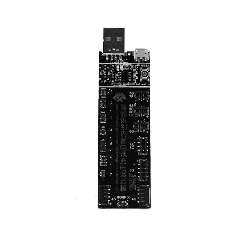 Placa de ativação da bateria 100fix w223 para iphone x 6plus 7 mais 8 8plus para huawei xiaomi oppo android carregamento placa pequena