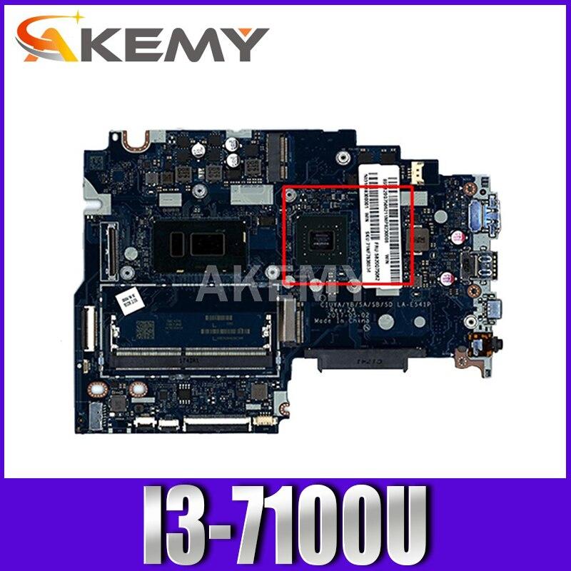 CPU I3-7100U لينوفو 320S-14IKB دفتر اللوحة CIUYA/YB/SA/SB/SD LA-E541P DDR4 100% اختبار العمل