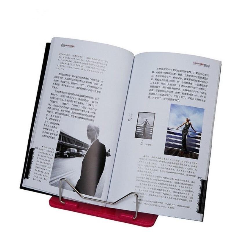 Подставка для книг Портативная Складная регулируемая, Книжная подставка для чтения книг, держатель для документов, подставка для чтения кн...