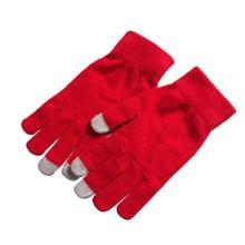 Sagace gants mode hommes femmes hiver gants écran tactile téléphone tablette doigt complet mitaines en plein air ski cachemire mitaine