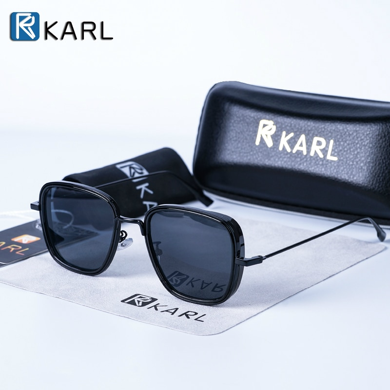 Square Sunglasses Men Luxury Brand Metal Retro Steampunk Gradient Sun Glasses for Men Women Shades Kabir Singh Sunglasses2020new