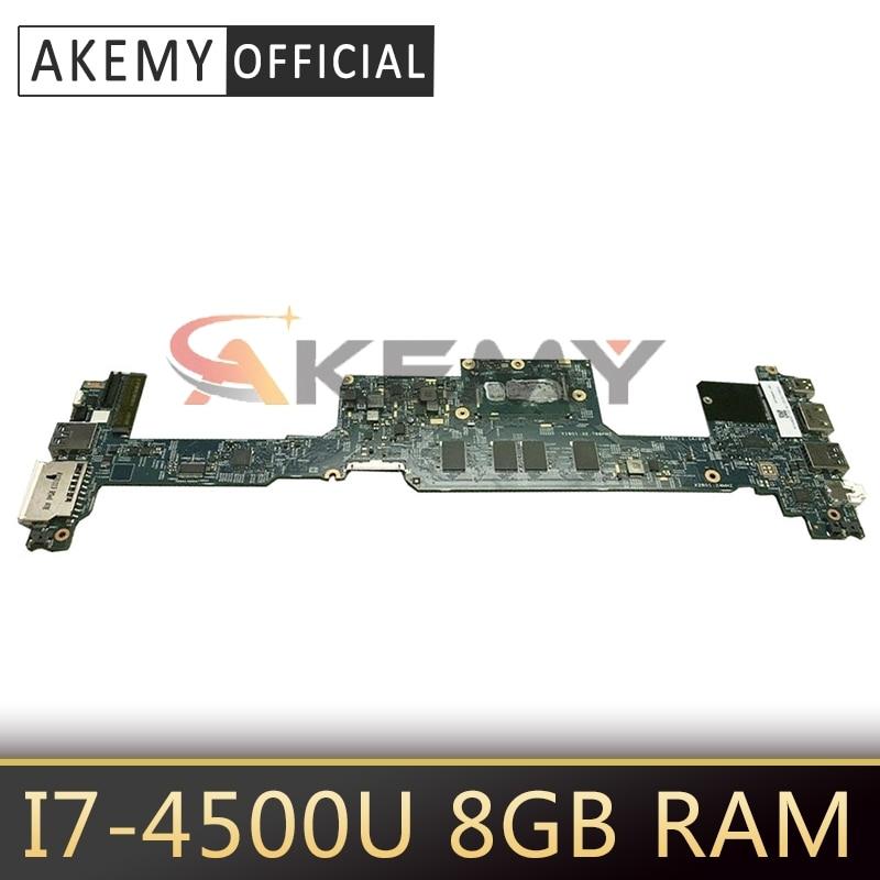 Akemy ordenador portátil placa madre para ACER Aspire S7-392 i7-4500U placa base...