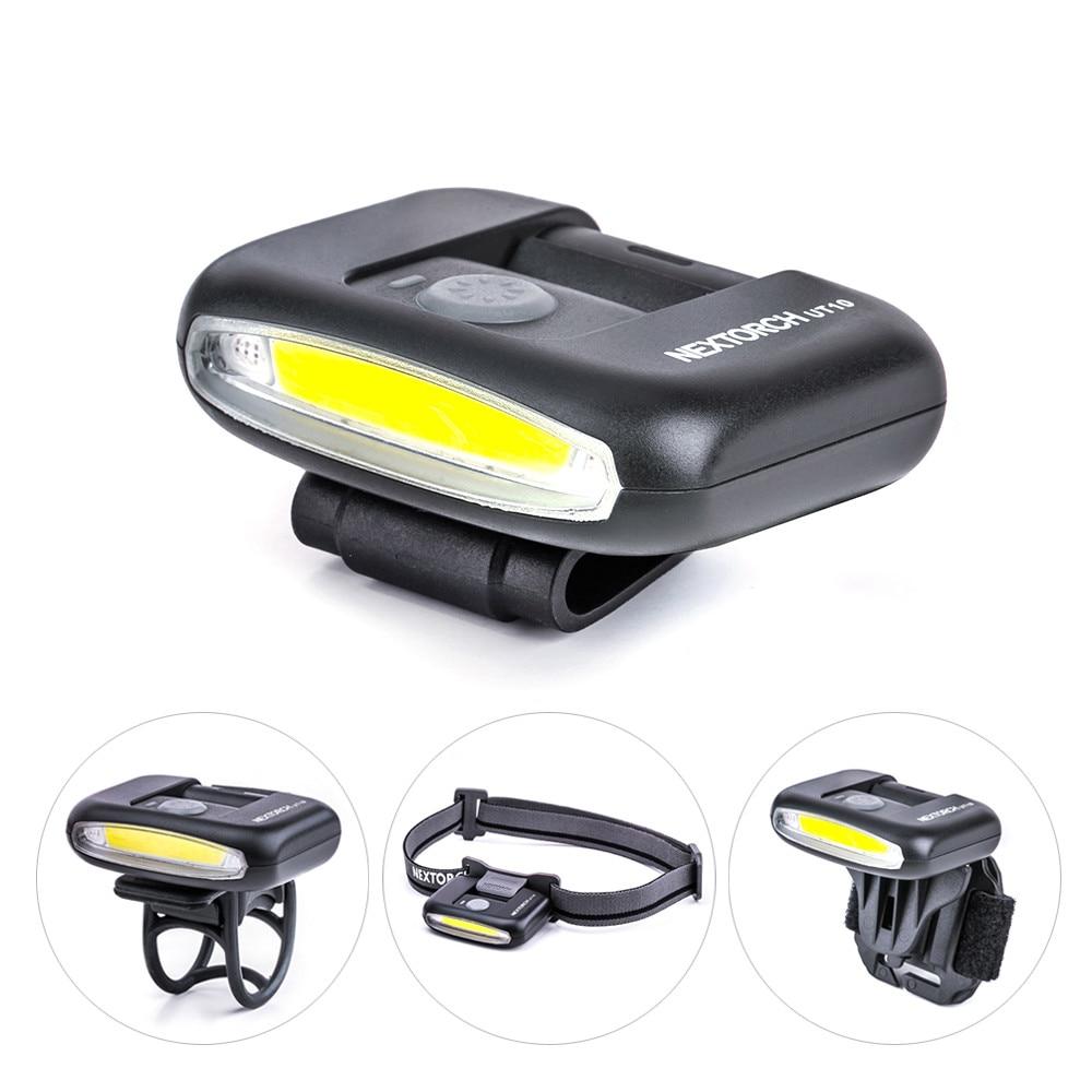 328 grandes ventas 170 lúmenes multifunción LED ligero compacto USB linterna recargable para Cap Light faro bicicleta Luz