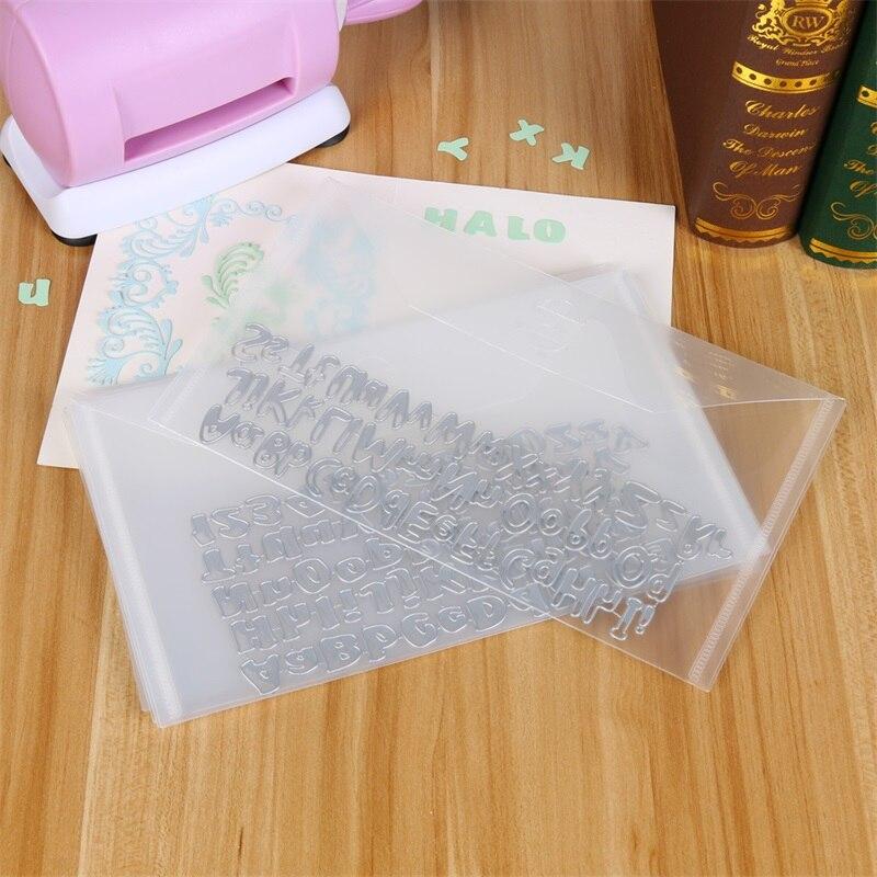 10 шт., 15x25,2 см, сумка для хранения штампов, используемая для хранения штампов, горячие тарелки из фольги папки для тиснения, органайзер, держа...