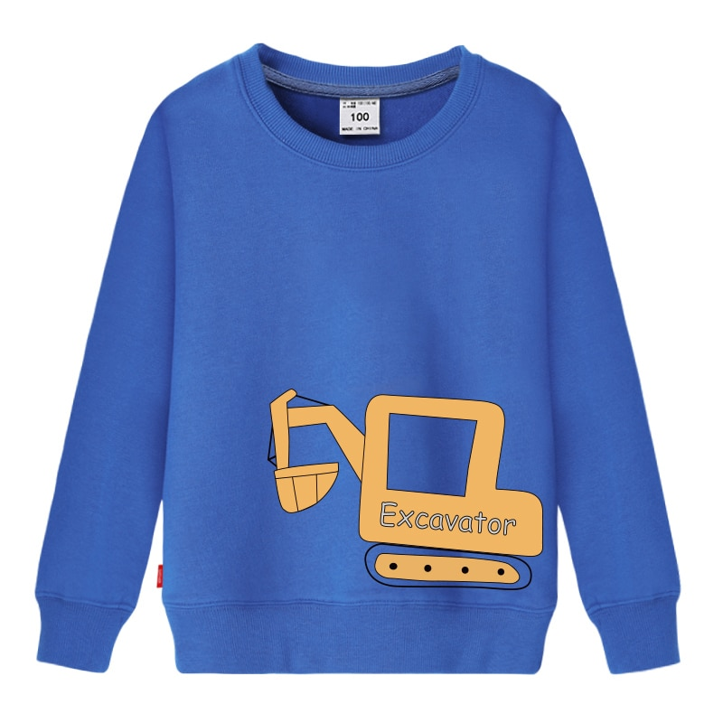 Sweater Toddler Boys Girls Sweatshirt Casual Hoodies Baby Long Sleeve Children Clothes Fashion Spring autumn Cartoon Print