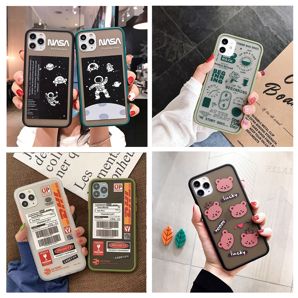 Fashion DHL Express Form Bear Planet Skin Phone Case for OPPO R11 R11S R15 R17 R15X Reno 2 2Z 2F 3 Pro Z Realme X K3 Soft Cover