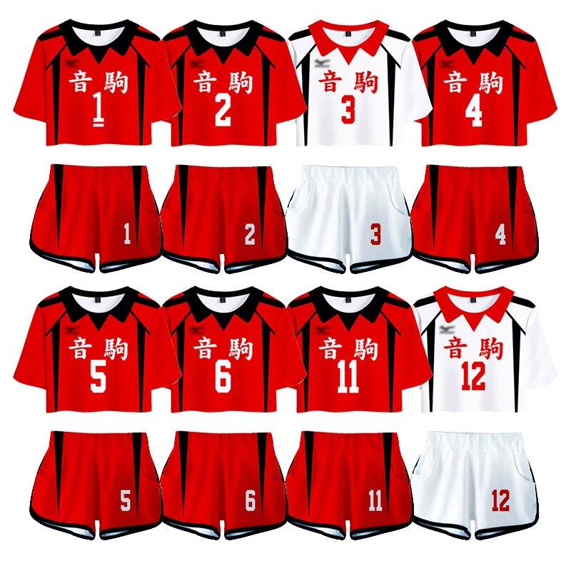 Haikyuu!! نيكوما المدرسة الثانوية #5 1 كينما كوزومي كوروو تيتسورو زي تأثيري Haikiyu فريق الكرة الطائرة جيرسي ملابس رياضية موحدة