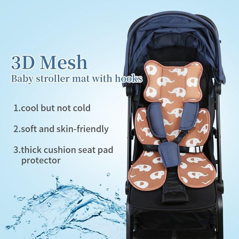 Kühle Wasserdichte Baby Kinderwagen Zubehör Windeln Ändern Windel Pad Sitz Wagen/Kinderwagen/Buggy/Auto Allgemeinen Matte für neugeborene + Haken