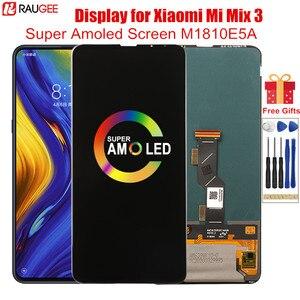 Amoled экран для Xiaomi Mi Mix 3 Оригинальный ЖК-дисплей дигитайзер сенсорный экран Замена для Mi MiX 3 M1810E5A дисплей 6,39''