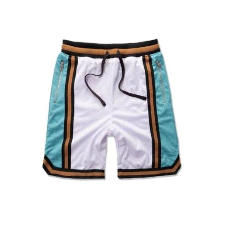 Шорты мужские сетчатые быстросохнущие, повседневные спортивные, для баскетбола, фитнеса, бега, спортивные короткие брюки, спортивные шорты