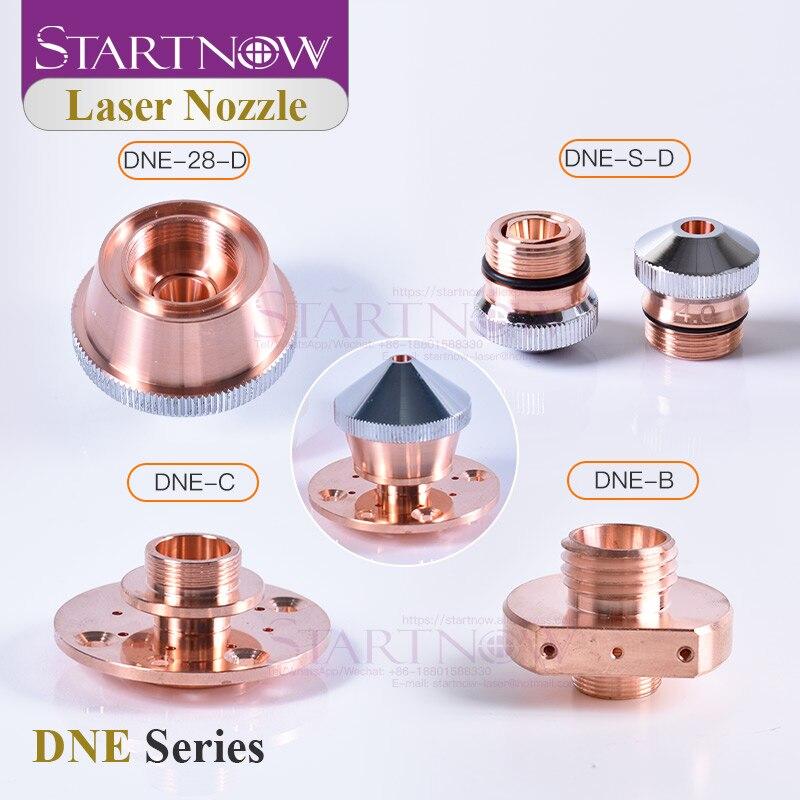 Conector de boquilla láser Startnow DNE cobre calibre Q90 4,0 fibra óptica máquina de corte cabeza repuestos accesorios de equipo