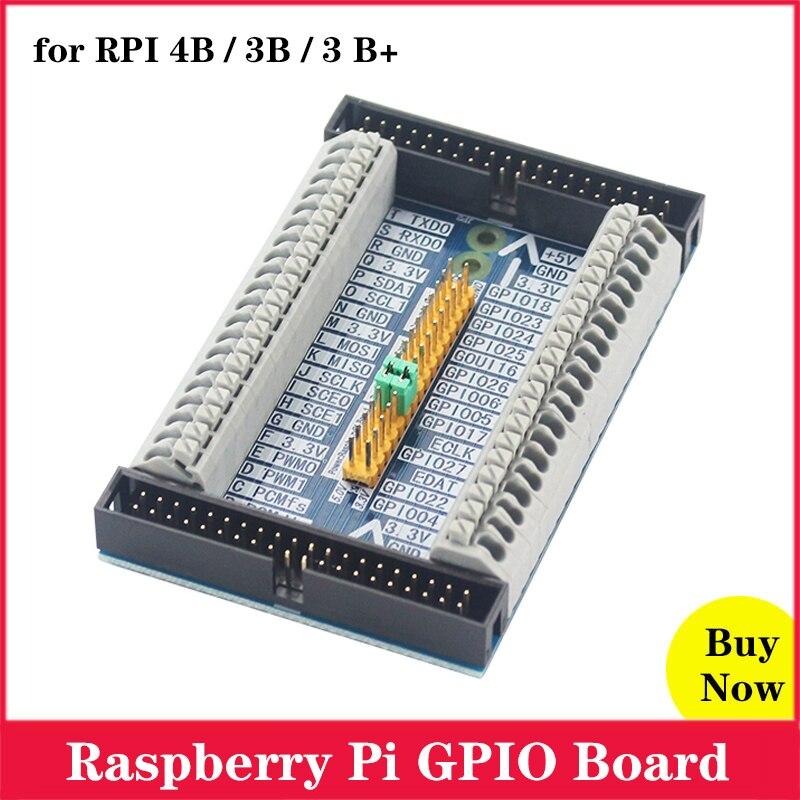 Raspberry Pi GPIO Плата расширения для Raspberry Pi 4 3 Модель B 4B 3B 3 B +