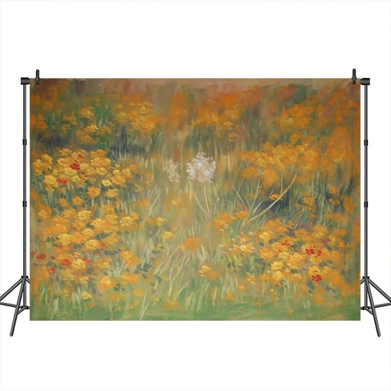 Vinil outono pano de fundo para fotografia pintura cenário flor recém-nascido fotos artísticas fotografia fundo para estúdio de fotografia