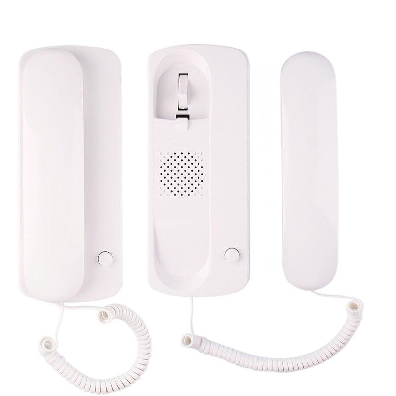 Аудио домофон Домашний домофон дверной звонок Домофон для комнаты TL-109DC