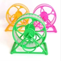 hamster toy pet jogging hamster sport running sport wheel cage toy interactive exercise wheel cage for small animal pet supplies