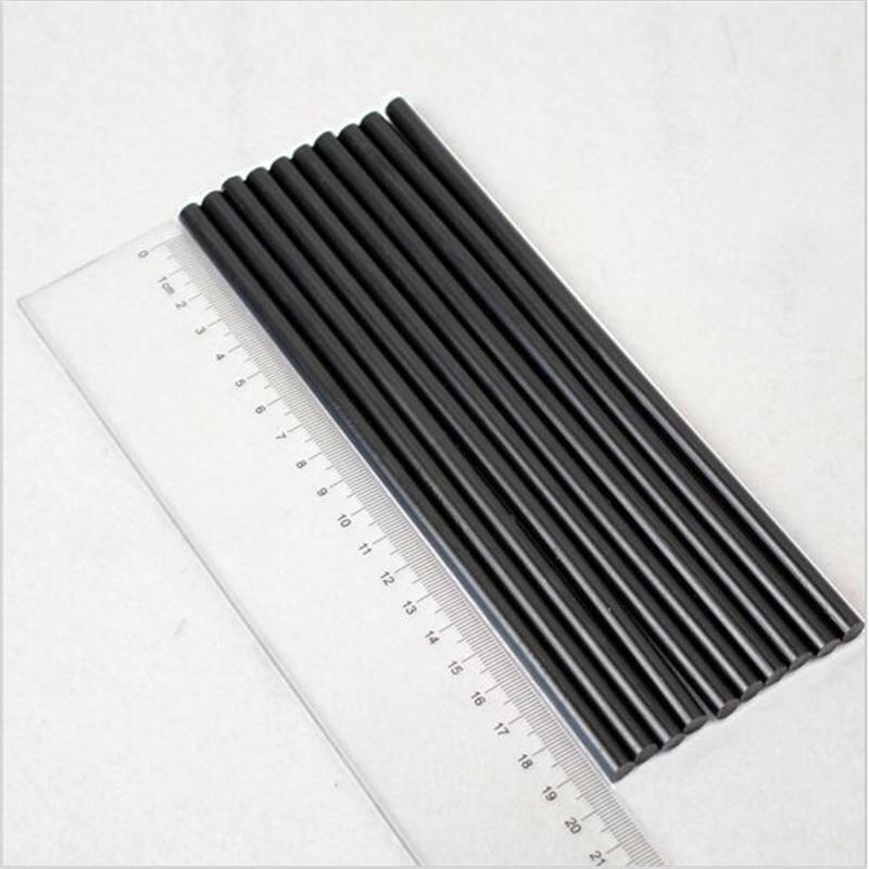 20шт 200 мм x 7 мм горячий расплав клей палка черный высокий клей для DIY ремесло игрушка ремонт инструмент
