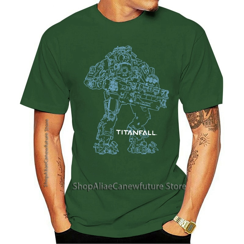 Camiseta oficial titandrop Titan 2 Bt Arte De Línea, Unisex, macalan Luck...