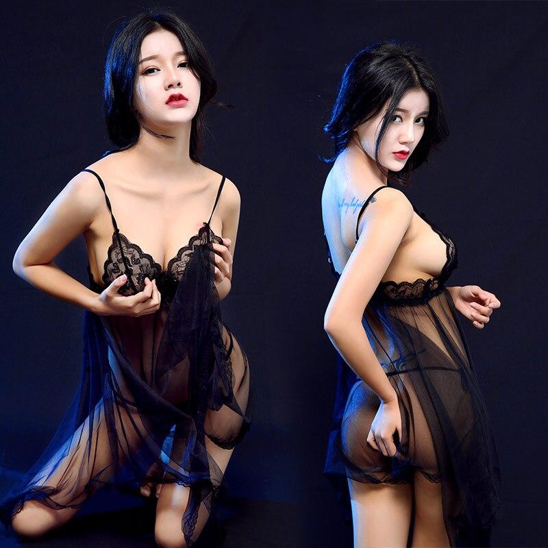 Various Color Sexy Half Slip Sexy Nightgown Erotic Lingerie Sexy Nightwear Sexy Sleepwear Sexy Lingerie Sexy Cosplay 1127