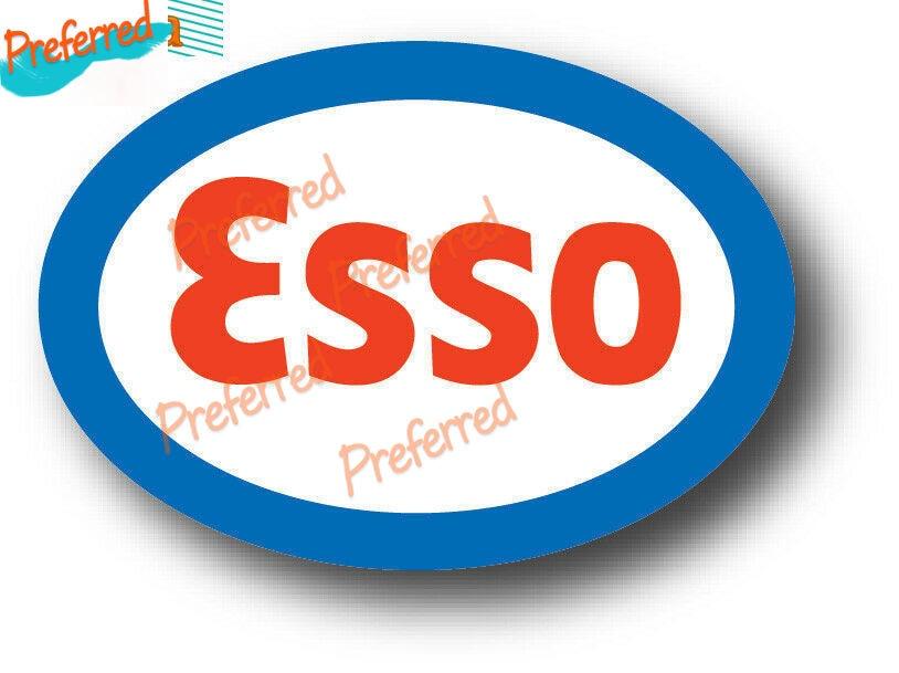 Оригинальный виниловый логотип ESSO на бензине, автомобильная наклейка, Бампер на окно грузовика, стену, автомобильная Настройка ноутбука, ба...