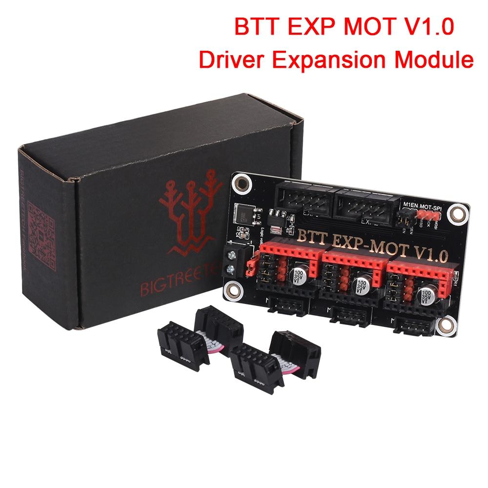 BIGTREETECH BTT EXP MOT V1.0, módulo de expansión del controlador del Motor para SKR V1.3 SKR V1.4 Turbo SKR PRO, piezas de impresora 3D