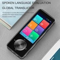 new m9 portable language translator 107 languages two way real time wifioffline recordingphoto translatio language translator