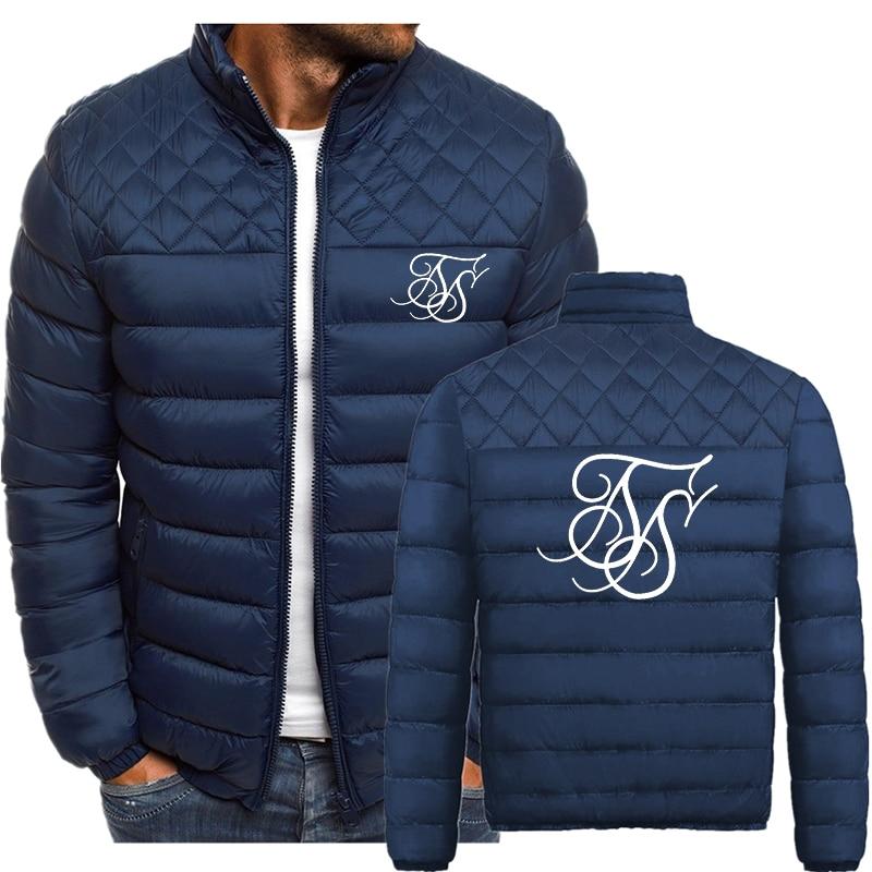 Фото - SikSilk Letter Printing 2021 Autumn Winter New Men's Plus Velvet Cotton Jacket Fashion Wild Street Personality Padded Jacket mark wild street meeting