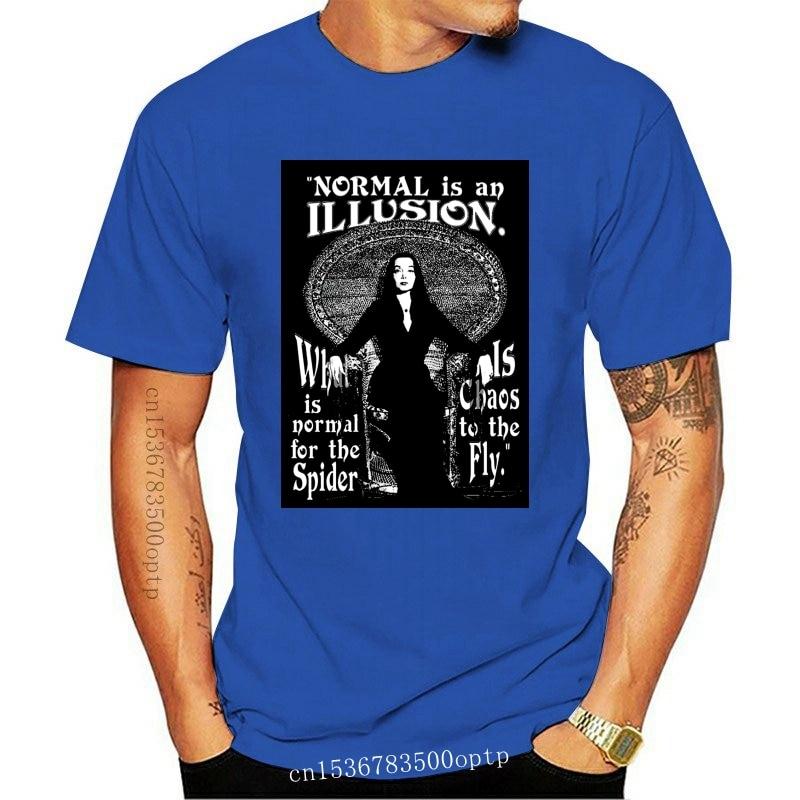 New Morticia Addams-Normal Is An Illusio Classic Movie T-Shirt T-Shirt 2021 2021 S T Shirt Fashion T Shirt Free Shipping Tee Shi
