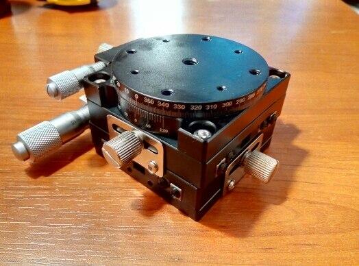 XYR محور 3 محور 60*60 مللي متر دليل التشذيب Olatform الترجمة الجدول و طاولة دوارة عبر السكك الحديدية LS60-LM