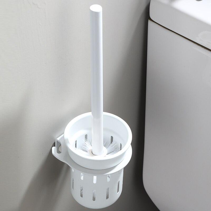 أداة تنظيف مجموعة حامل فرشاة المرحاض, حامل فرشاة المرحاض المثبت على الحائط