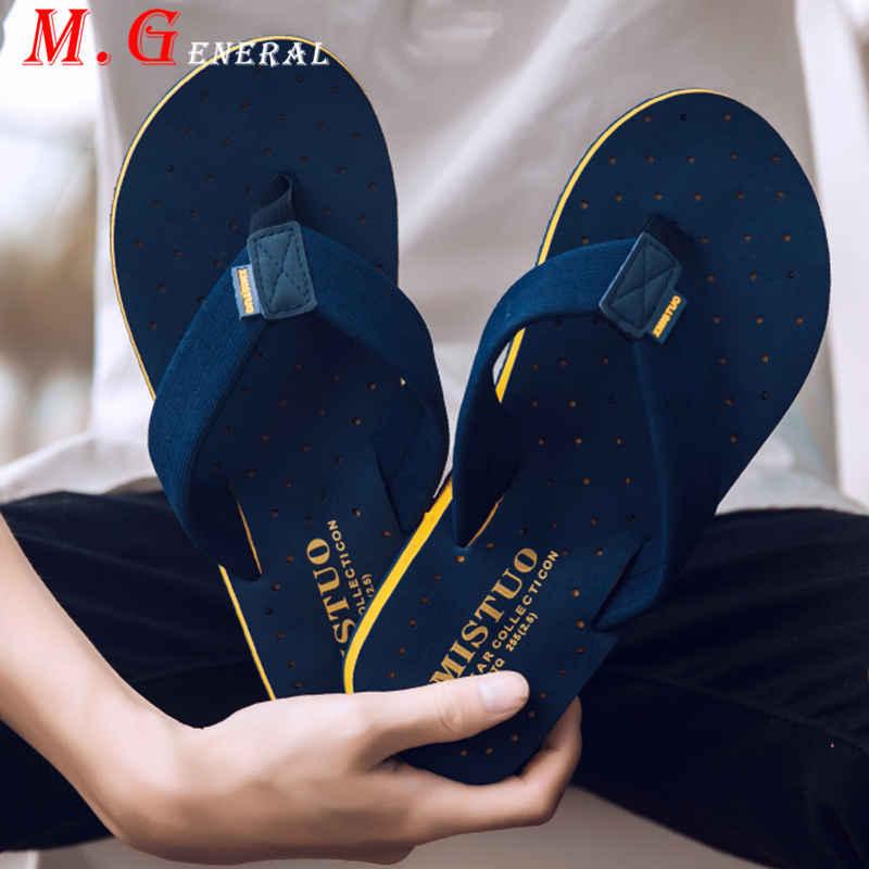 Zapatillas de hombre, sandalias de playa de talla grande para hombre, zapatillas de verano transpirables informales C32