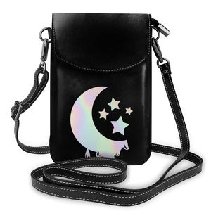 Anime Shoulder Bag Gift Aesthetic Women Bags Leather Travel Student Purse