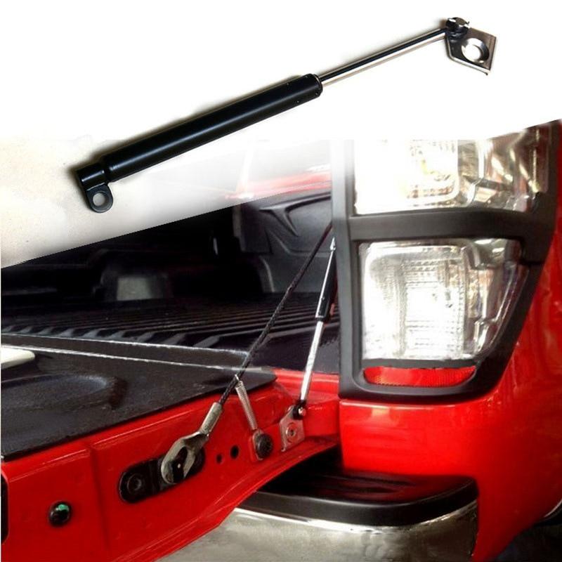 High quality Spring Steel Rear gate Damper Tailgate Slow Down & Easy Up Strut Set For FORD RANGER 20