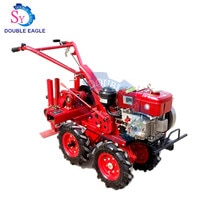 High Output Profession Cheap 4 Wheel Hand Tractor Drive Garlic Picking Machine/Fresh Garlic Harvester Agricultural Machinery