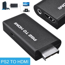 Mayitr 1 шт. Профессиональный HDMI видео конвертер адаптер с 3,5 мм аудиовыход + USB кабель для PS2 до 480i/480p/576i