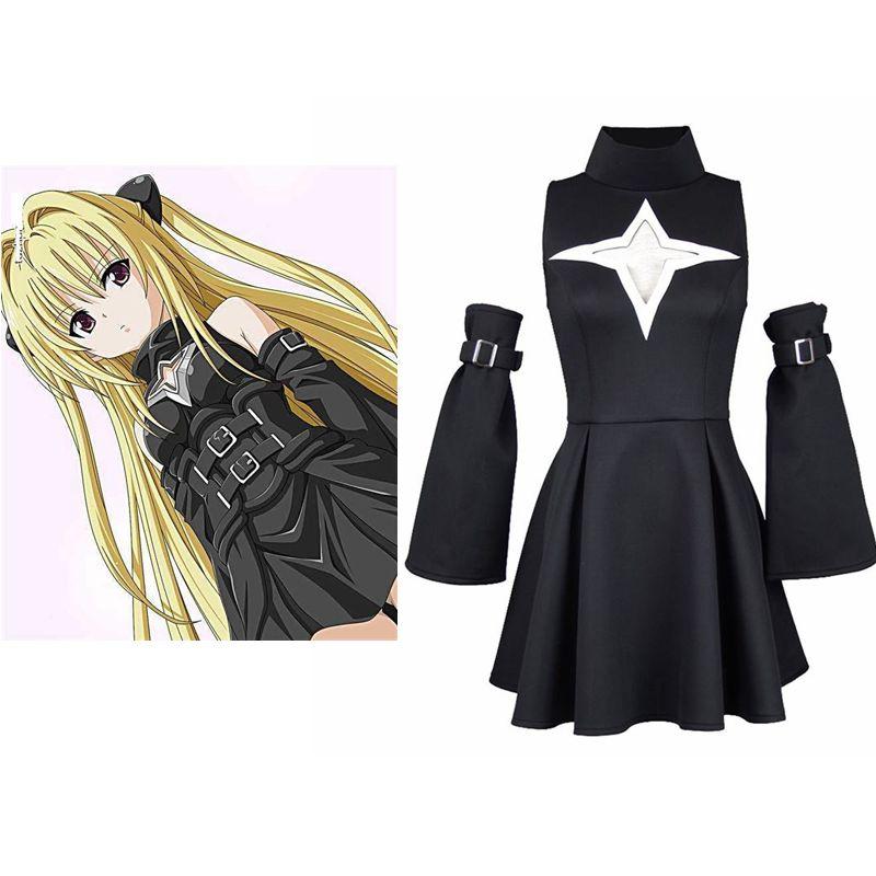 Set de disfraces de Cosplay de Anime Unisex de alta Q, traje uniforme para el día a día de la oscuridad