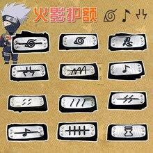 Anime Naruto accessoires Cosplay Kakashi Naruto Akatsuki Uchiha Itachi bandeau hommes femmes accessoires de déguisement