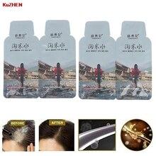 4pc Rice Hair Growth Shampoo Anti Hair Loss Treatment Serum Fast Growth Longer thicker Hair for Men