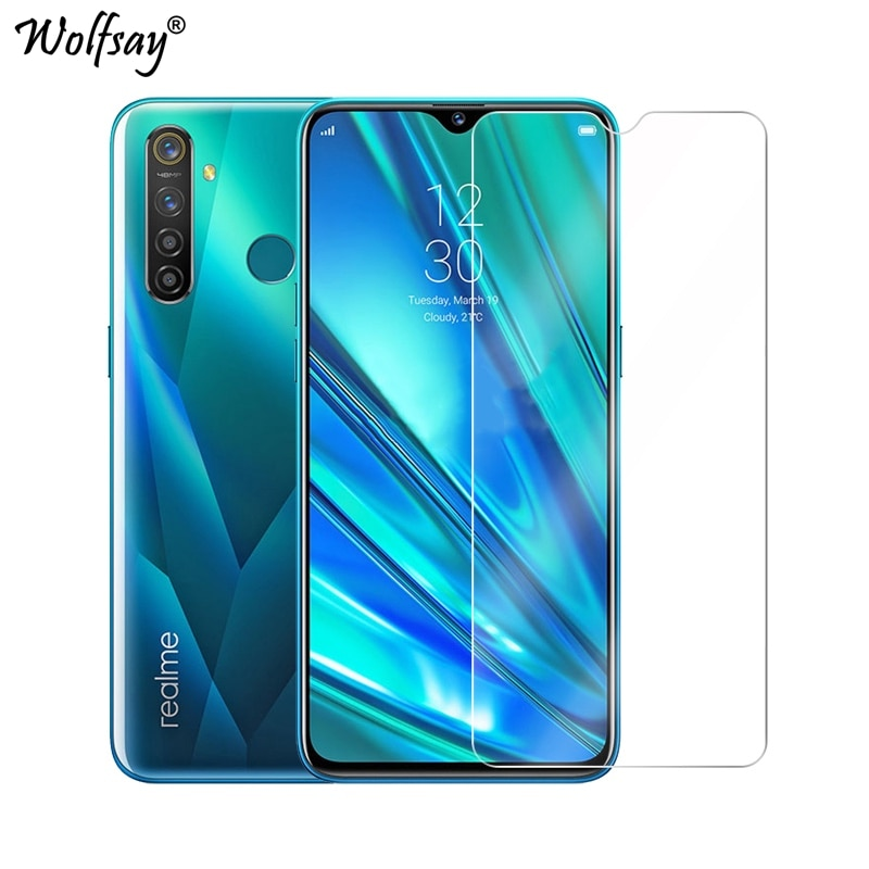 2pcs For Oppo Realme Q Tempered Glass For Oppo Realme Q Screen Protector 9H Toughened Premium Glass