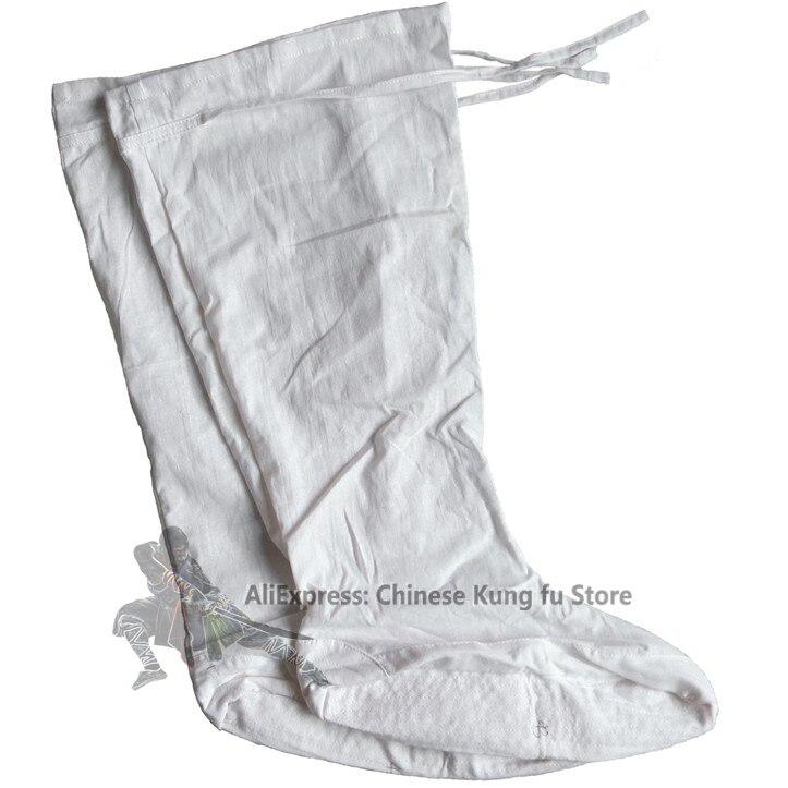 Белые хлопковые носки Shaolin Monk Wudang Taoist Kung fu, обувь для занятий Таэквондо и карате