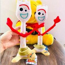 Haute qualité 15cm 26cm jouet histoire 4 Forky Buzz Lightyear Woody doux en peluche jouet peluche poupée Figure dessin animé jouets pour enfants cadeau