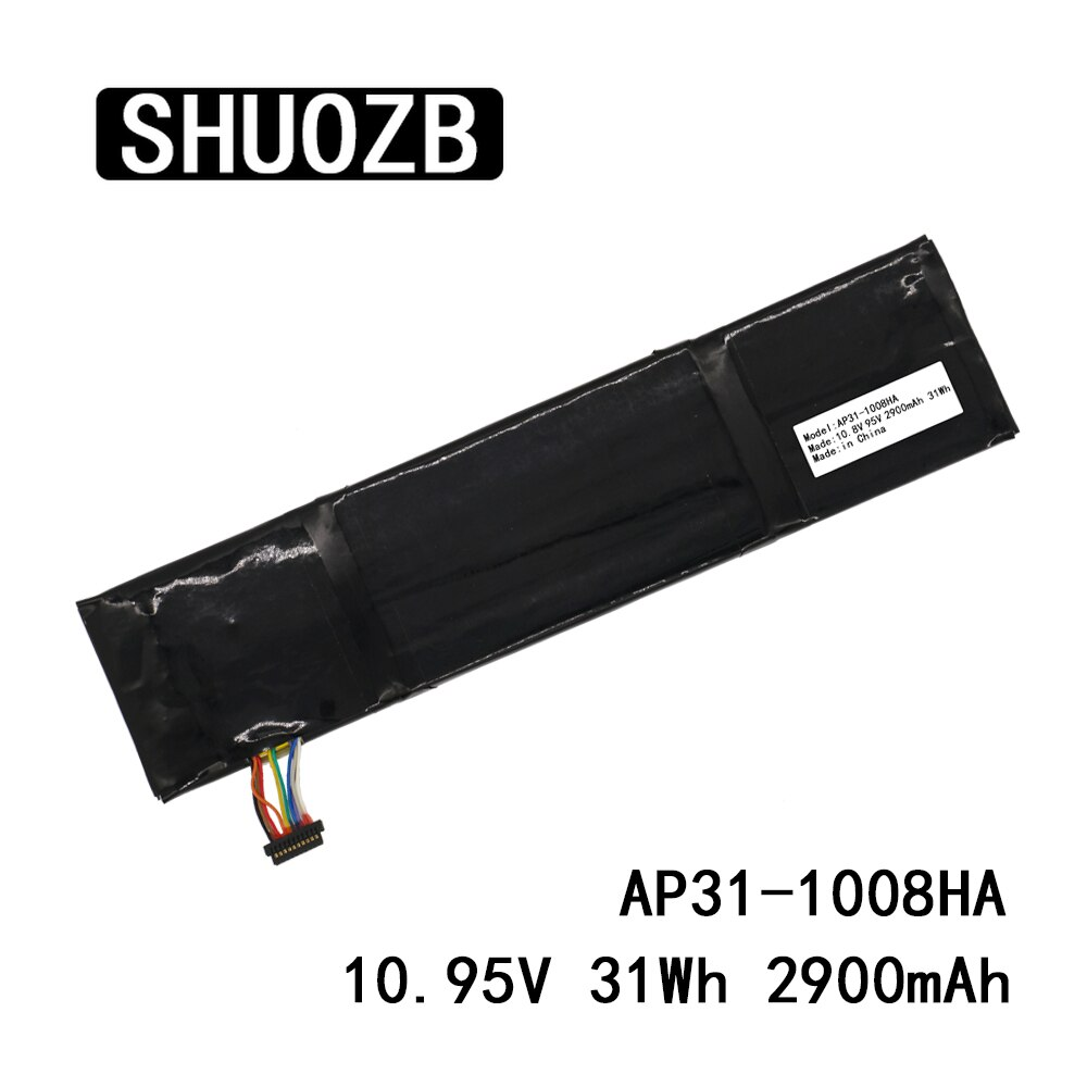 SHUOZB AP31-1008HA AP32-1008HA 10,8 V 10,95 V 31Wh 2900mAh Laptop Akku Für Asus Eee PC 1008 1008H 1008HA Serie
