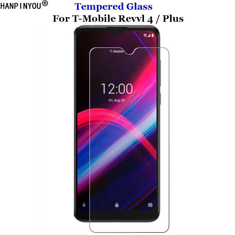 """Para T-Mobile Revvl 4 Revvl4 6,22 """"de vidrio templado 9H 2.5D Protector de pantalla Premium película para T-Mobile Revvl 4 Plus de 6,52"""","""