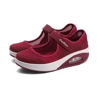 sneakers female flat soft comfortable fashion lightweight pumps shoes joker slip on super light casual vulcanize shoes woman red
