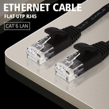 Kabel Ethernet Cat6 Lan CAT 6 płaski UTP kabel sieciowy RJ45 15cm 25cm 50cm 1m Patch przewód do komputera Router Laptop kabel sieciowy