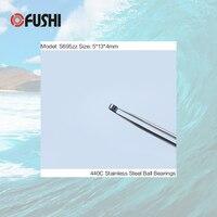 S695ZZ Bearing 5*13*4 mm ( 100PCS ) ABEC-1 440C Roller Stainless Steel S695Z S695 Z ZZ Ball Bearings