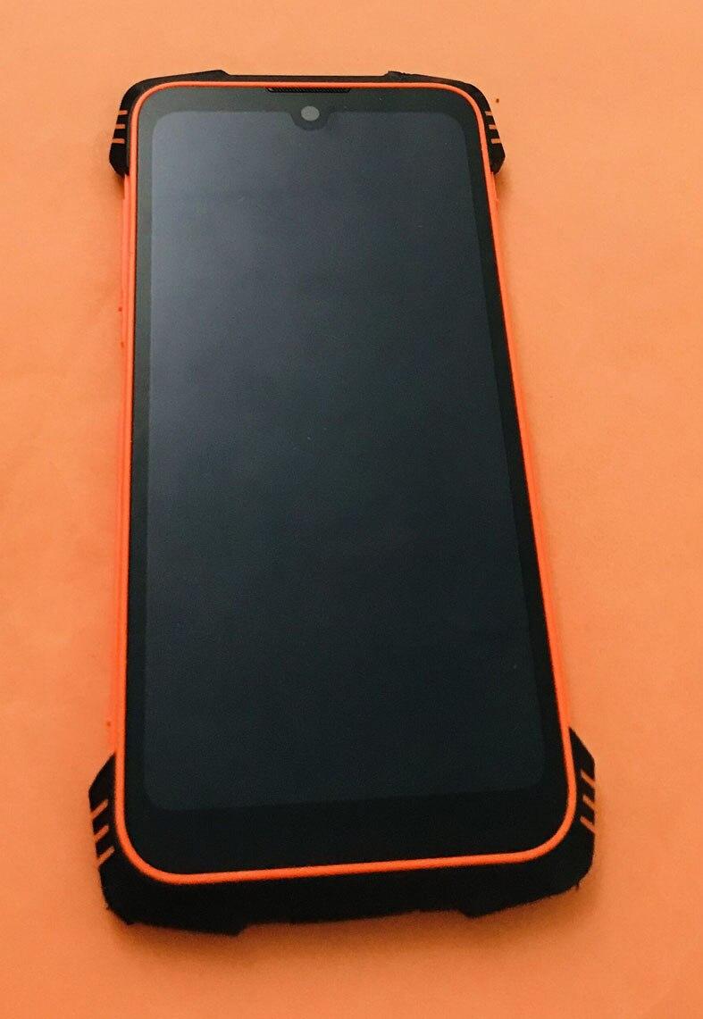 قديم الأصلي الجبهة شاشة الكريستال السائل محول الأرقام شاشة تعمل باللمس الإطار ل Blackview BV6900 MT6757CD ثماني النواة 5.84 بوصة FHD شحن مجاني