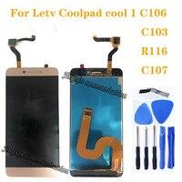 Новый ЖК-дисплей для Letv Le LeEco Coolpad Cool 1 Cool1 Dual C106 R116 C103, комплект для ремонта ЖК-дисплея